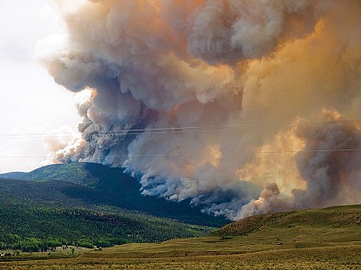 West Fork Wildfire Complex